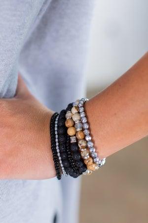 sku15290 | Lava Stone Bracelet Set
