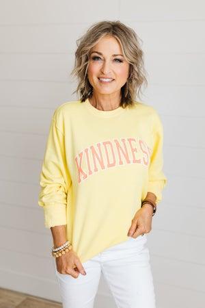 sku19890 | Kindness Graphic Sweatshirt