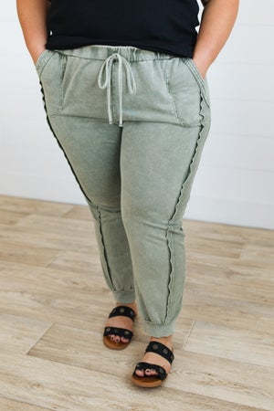 sku20890   Mineral Washed Joggers
