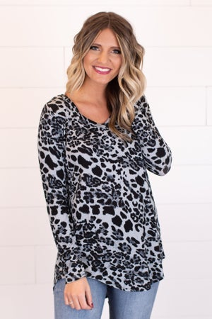 sku17822 | **Daily Deal** Animal Print Tunic