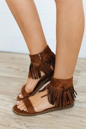 sku20510 | Lizzie Fringe Sandal