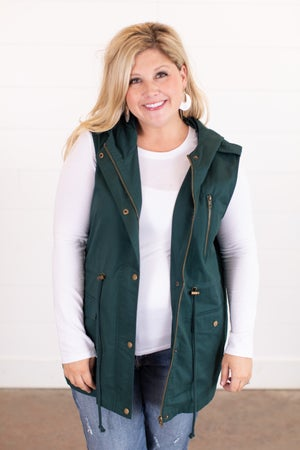 sku16323 | **Daily Deal** Hooded Utility Vest
