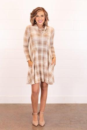 sku16424 | Cowl Neck Pocket Dress