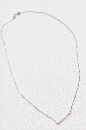 sku17251 | Crystal Bar Pendant Necklace