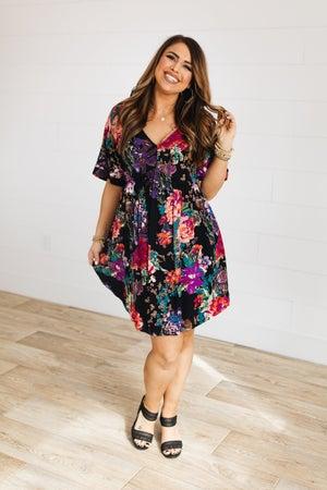 sku18515 | Floral Babydoll Dress