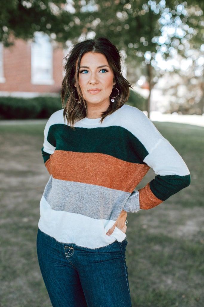 sku15359 | Color Block Sweater