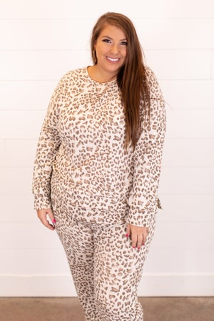 sku16451 | Animal Print Pullover