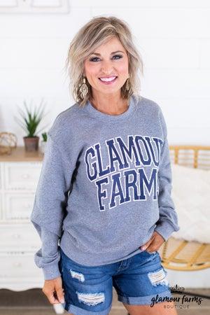 sku14867 | Glamour Farms Graphic Sweatshirt