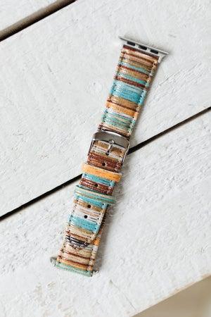 sku19073 | Striped Apple Watch Band