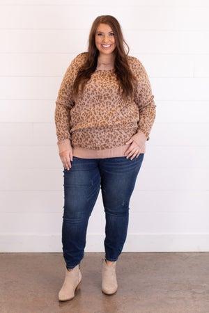 sku17227 | Animal Print Sweater