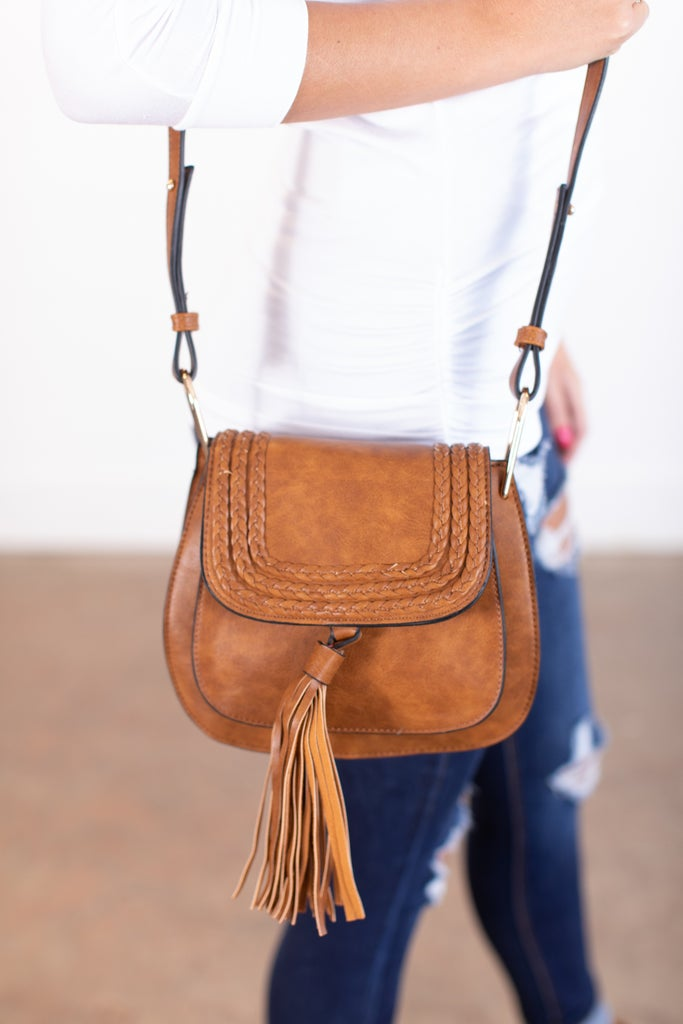 sku15718   Crossbody Saddle Bag