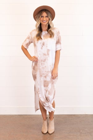 sku16490 | Tie Dyed Maxi Dress