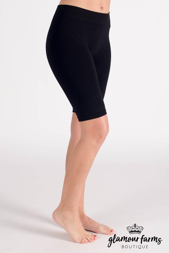 sku010m | Ahh-mazing Long Seamless Shorts