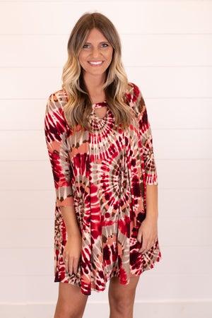 sku16248 | Tie Dyed Starburst Dress