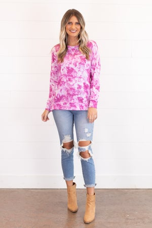sku16467 | Tie Dyed Pullover
