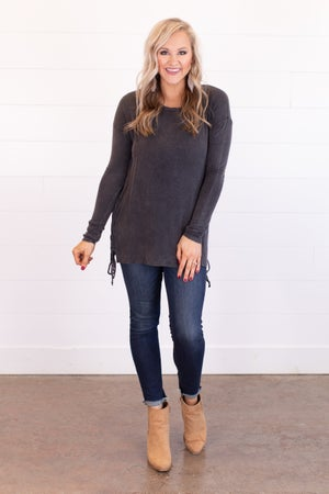sku17068 **Daily Deal** Side Cinch Tunic