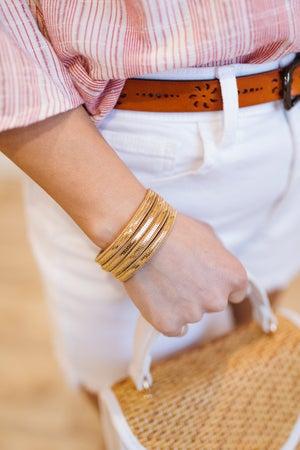 sku19339   Layered Chain Magnetic Bracelet