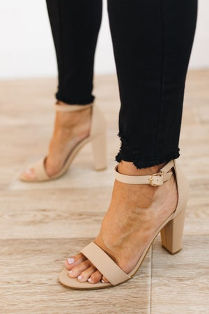sku21605 | Rampage Block Heel Sandal