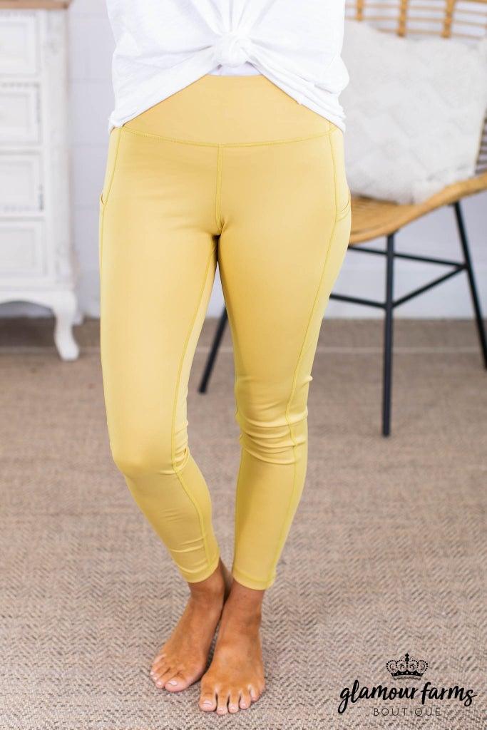 sku13815 | Side Pocket Active Leggings