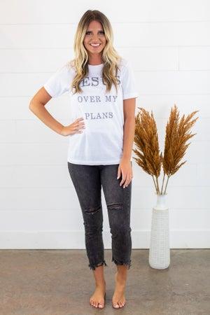 sku15250   Dream Distressed High Rise Skinny Jean