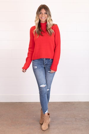 sku17472 | Mock Neck Sweater