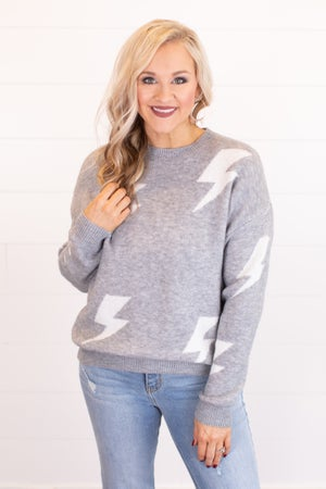 sku17850 | Lightening Bolt Sweater