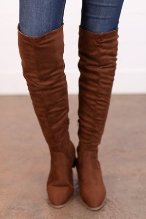 sku16043 | Catherine Knee High Boots