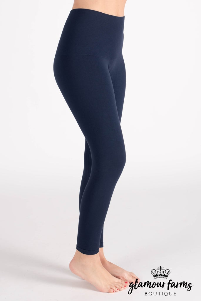 sku013m | Ahh-mazing Tummy Tuck Crop Legging