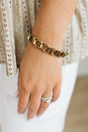 sku20828   Chunky Chain Link Bracelet