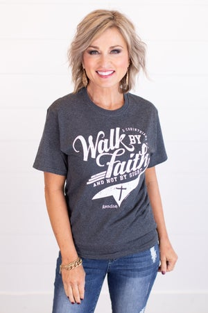 sku17756 | Walk By Faith Graphic Tee