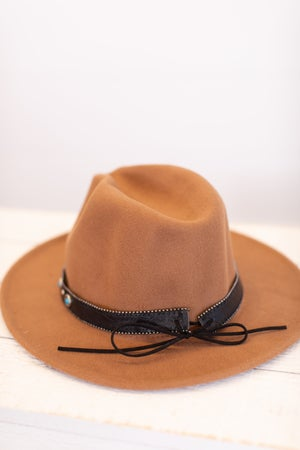 sku16240 | Southwest Belted Fedora Hat