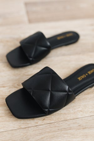 sku18865 | Jamie Quilted Slide Sandal