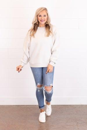 sku17833 | **Daily Deal** Oversized Sweatshirt