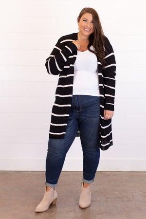 sku15393 | Ribbed Knit Cardigan