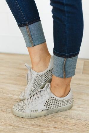 sku20644   Rock Star Studded Sneakers