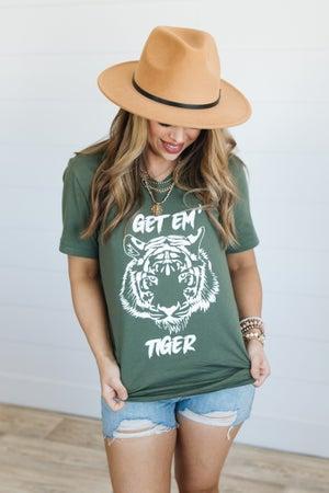 sku20067 | Get 'Em Tiger Graphic Tee