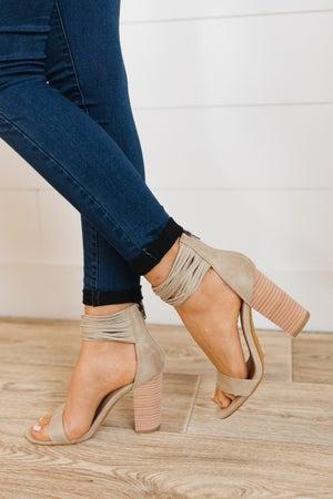 sku19989 | Blair Strappy Block Heel Sandal