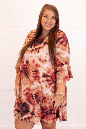 sku16431 | Tie Dyed Starburst Dress