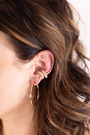 sku17273 | Crystal Ear Cuff Set