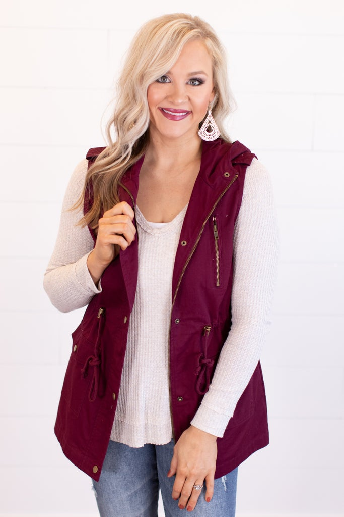 sku16320 | **Daily Deal** Hooded Utility Vest