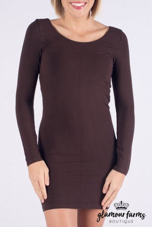 sku008c | Curvy Ahh-mazing Long Sleeve Dress Shaper
