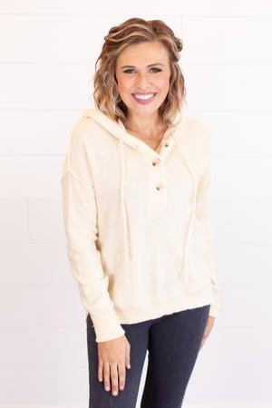 sku17511 | Drawstring Hooded Sweater
