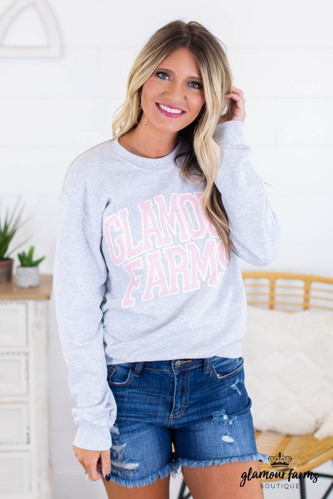 sku14722 | Glamour Farms Graphic Sweatshirt