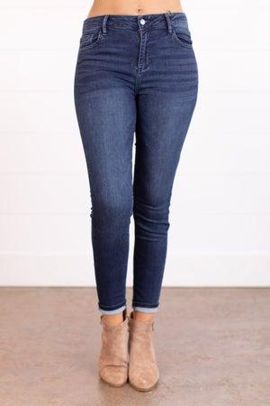 sku17678 | Mid Rise Classic Skinny Jean