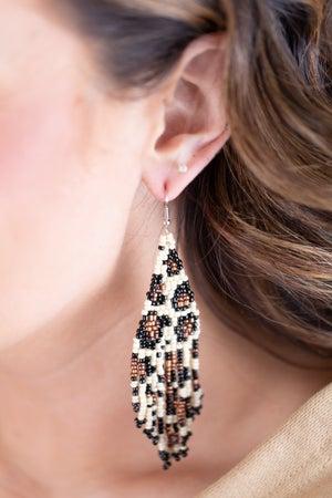sku17767 | Seed Bead Dangle Earrings