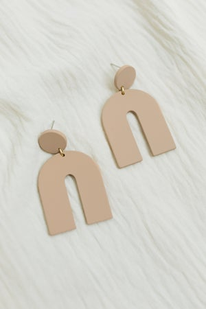 sku20690   Geometric Dangle Earrings