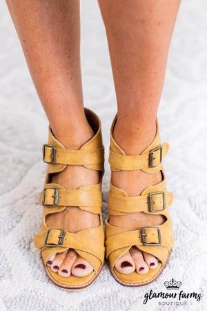 sku11527 | Marjorie Block Heel Sandal