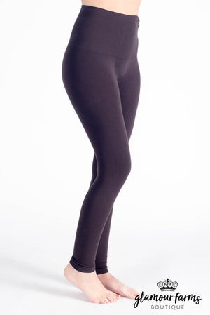 sku015m | Ahh-mazing Tummy Tuck Ankle Legging