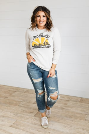 sku19996 | The Rockies Graphic Sweatshirt