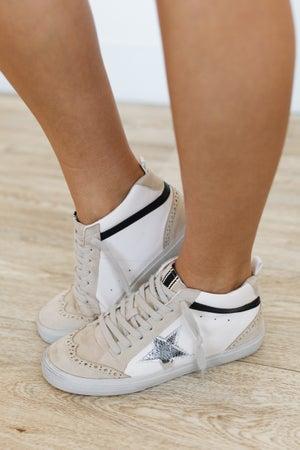 sku20645   Paulina Mid Top Sneaker